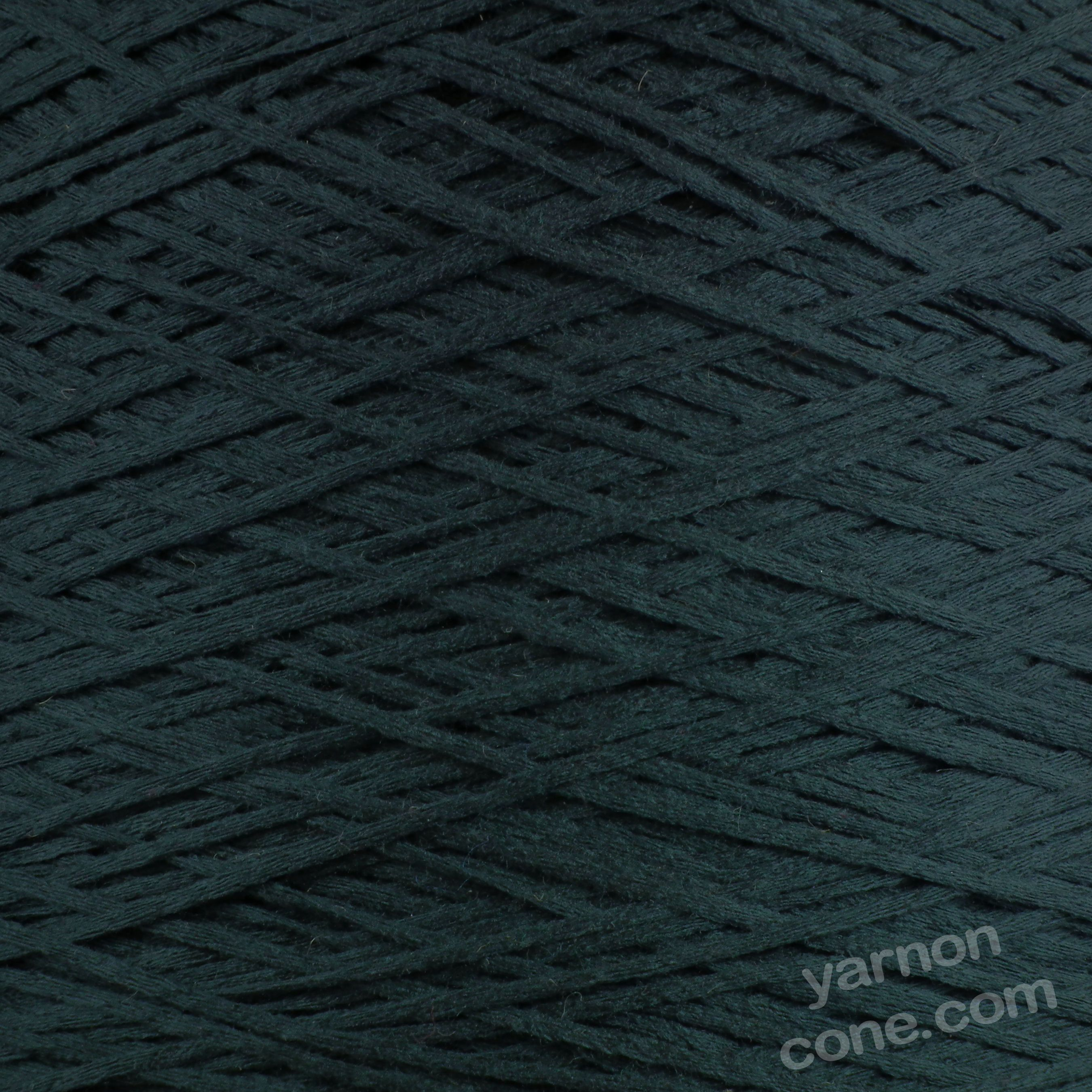 dark navy tape yarn fettucina cone 4 ply