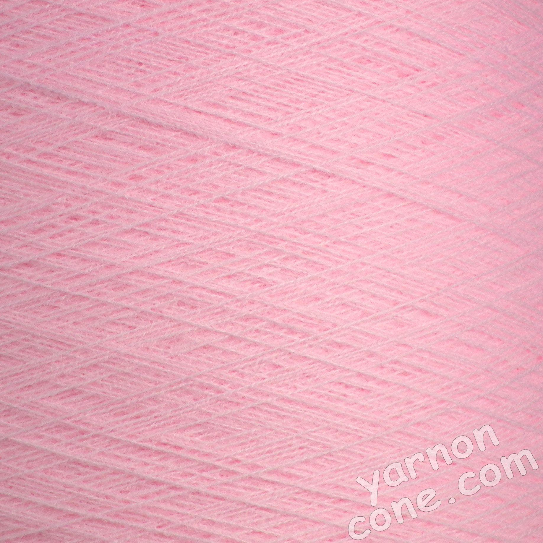 2/30s high bulk acrylic machine knitting yarn on cone 1 2 ply baby pink