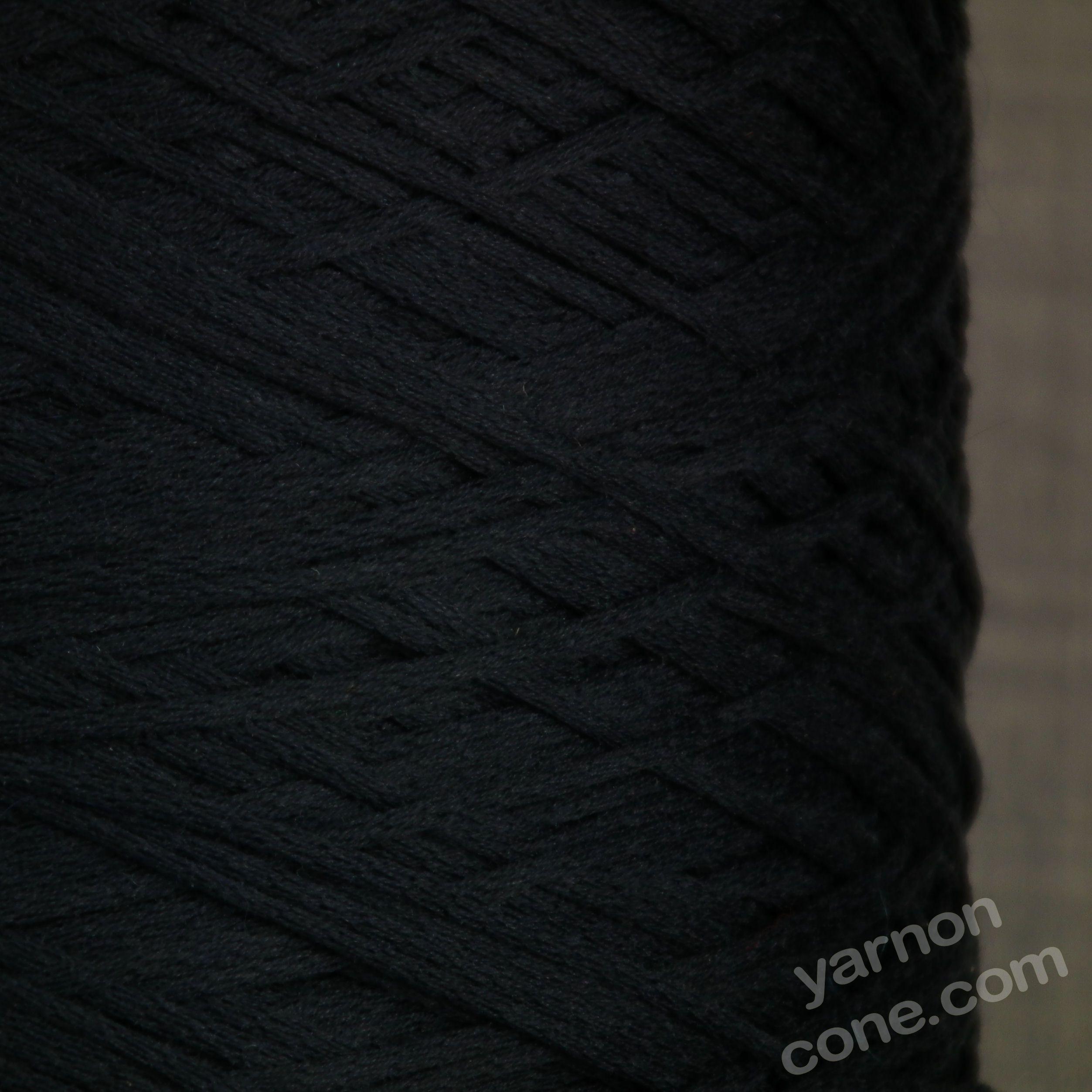 Peruvian Pima cotton 4 ply soffio soft cotton yarn on cone knit crochet weave navy blue