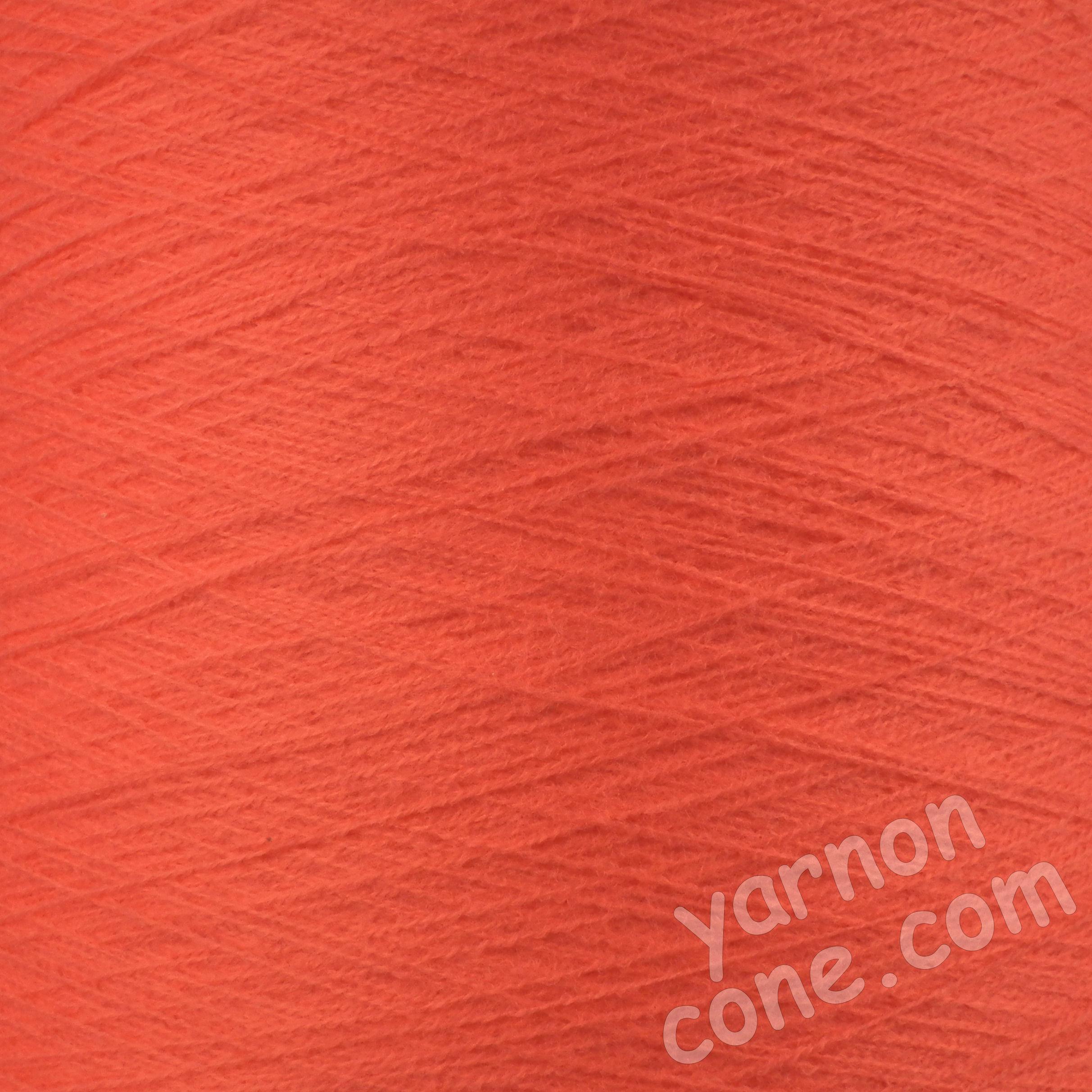 2/30s high bulk acrylic machine knitting yarn on cone 1 2 ply soft coral