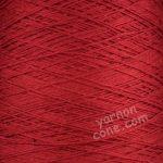soft 4 ply viscose linen yarn on cone knitting weaving crochet scarlet red crimson