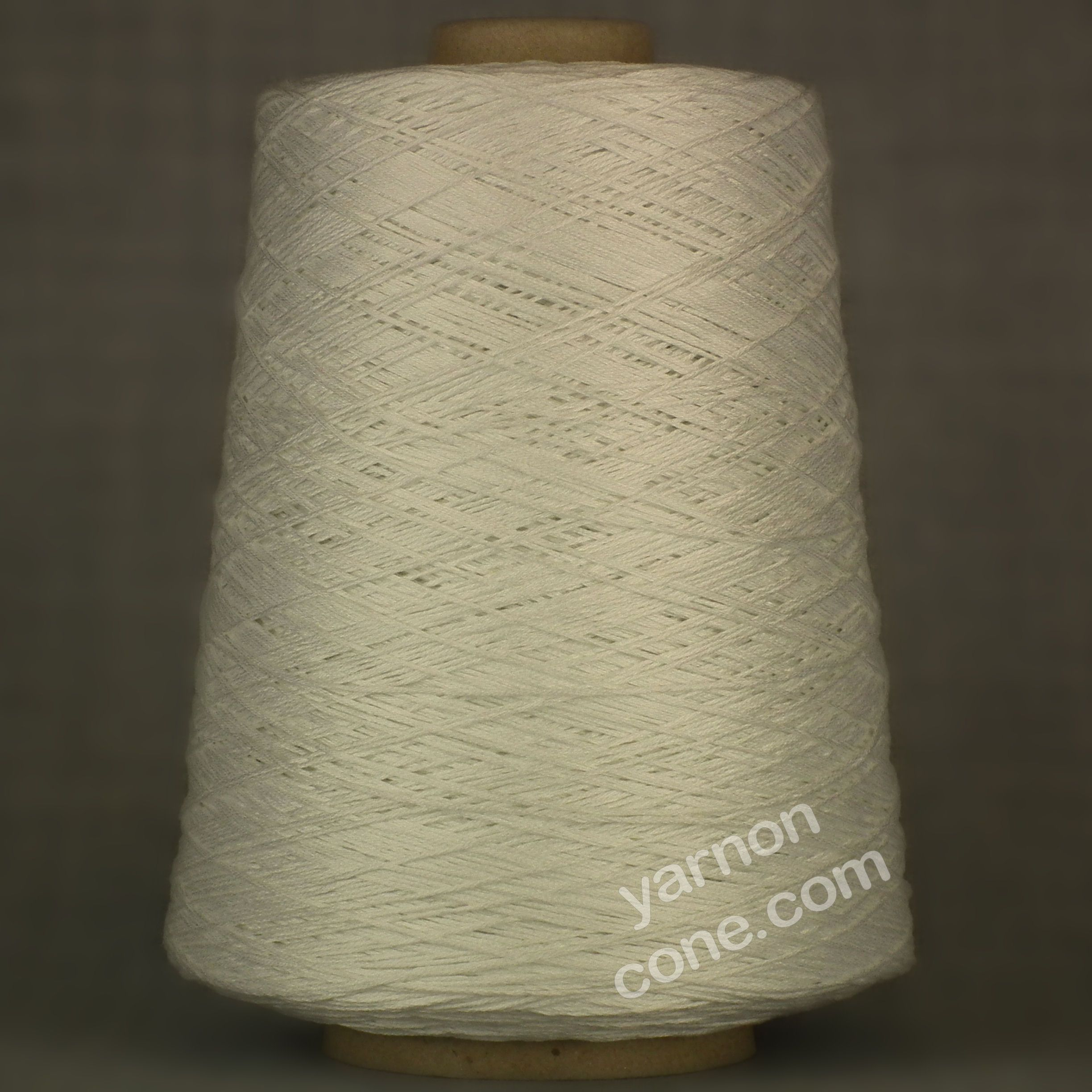 4 Ply Pure Mercerised Cotton White Yarn On Cone