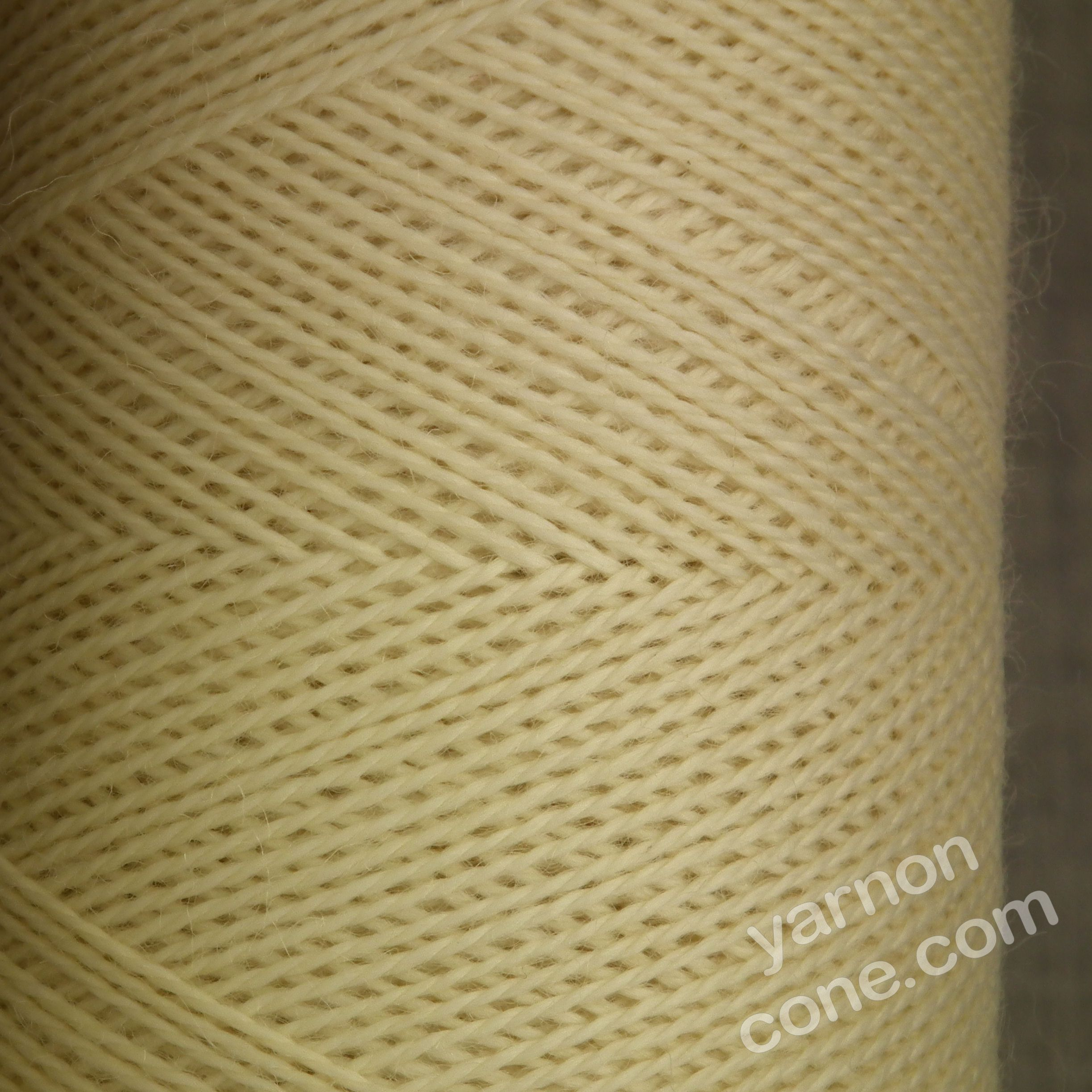 Jura weaving wool 4 ply yarn cone ecru cream undyed natural