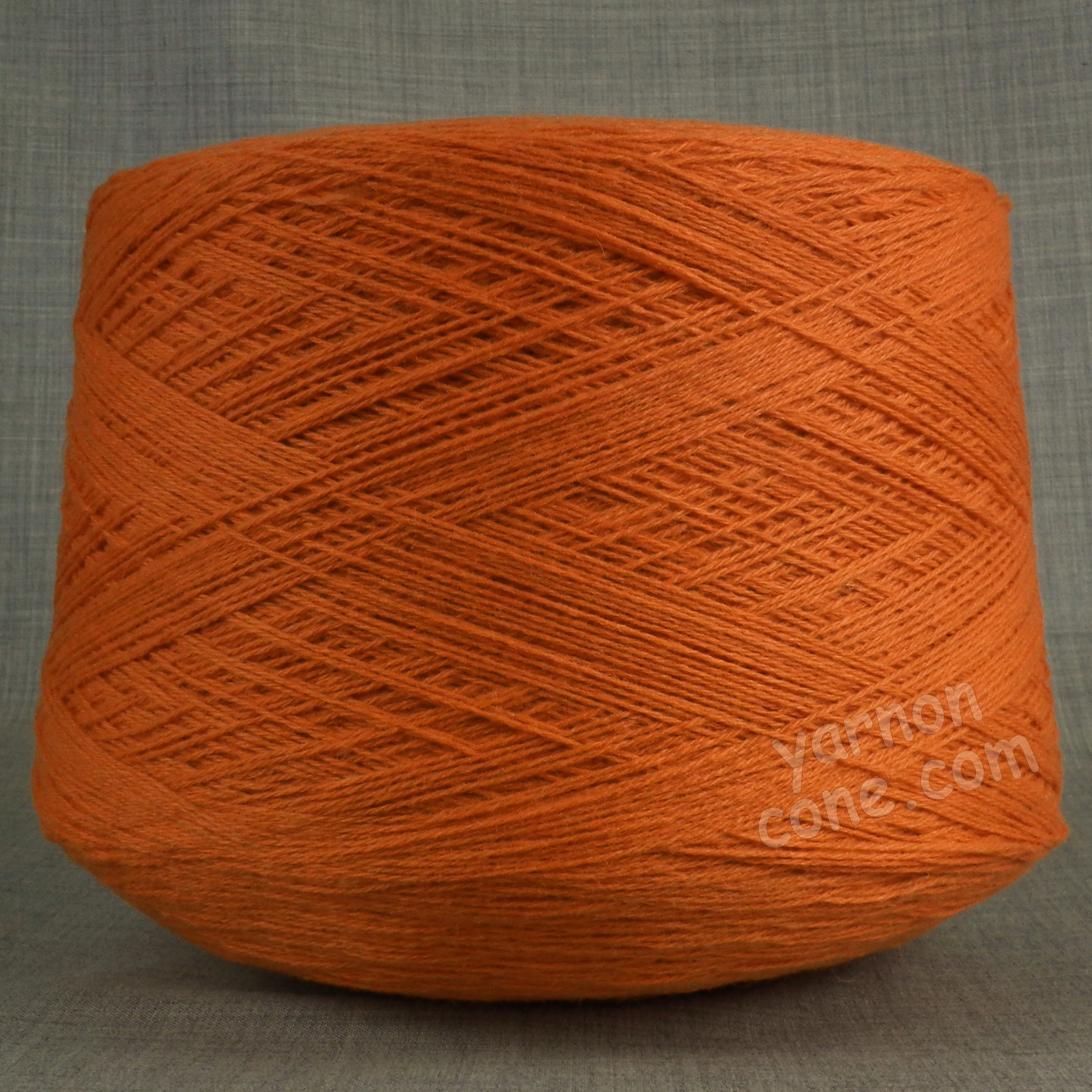 natural fantasy extrageelong geelong merino wool pure italian pomo orange 3 4 ply knitting yarn on cone