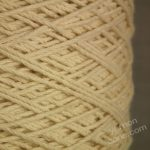 100% pure cotton dishcloth ecru undyed natural yarn cream