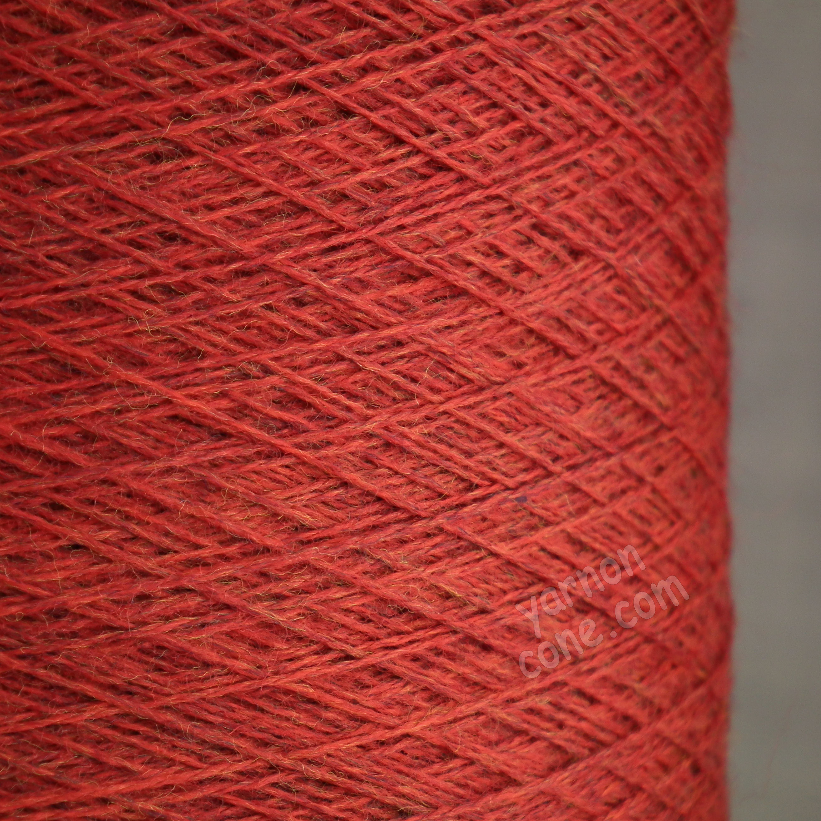 2/30NM zegna baruffa cashwool pure merino knitting wool laceweight yarn cone carmine red