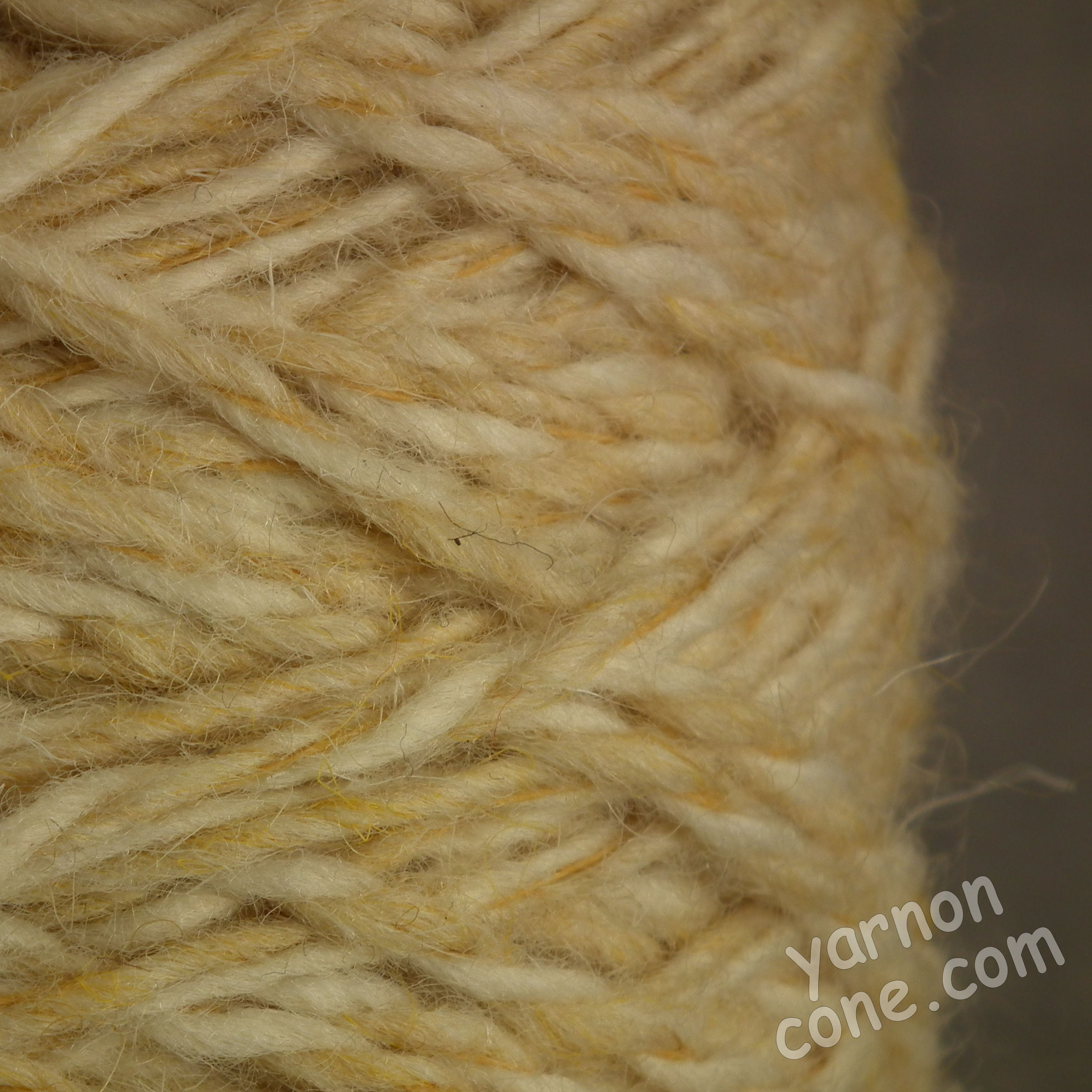 Berber rug making thick carpet yarn weaving latch hook ecru sand BB10 thick wool cone