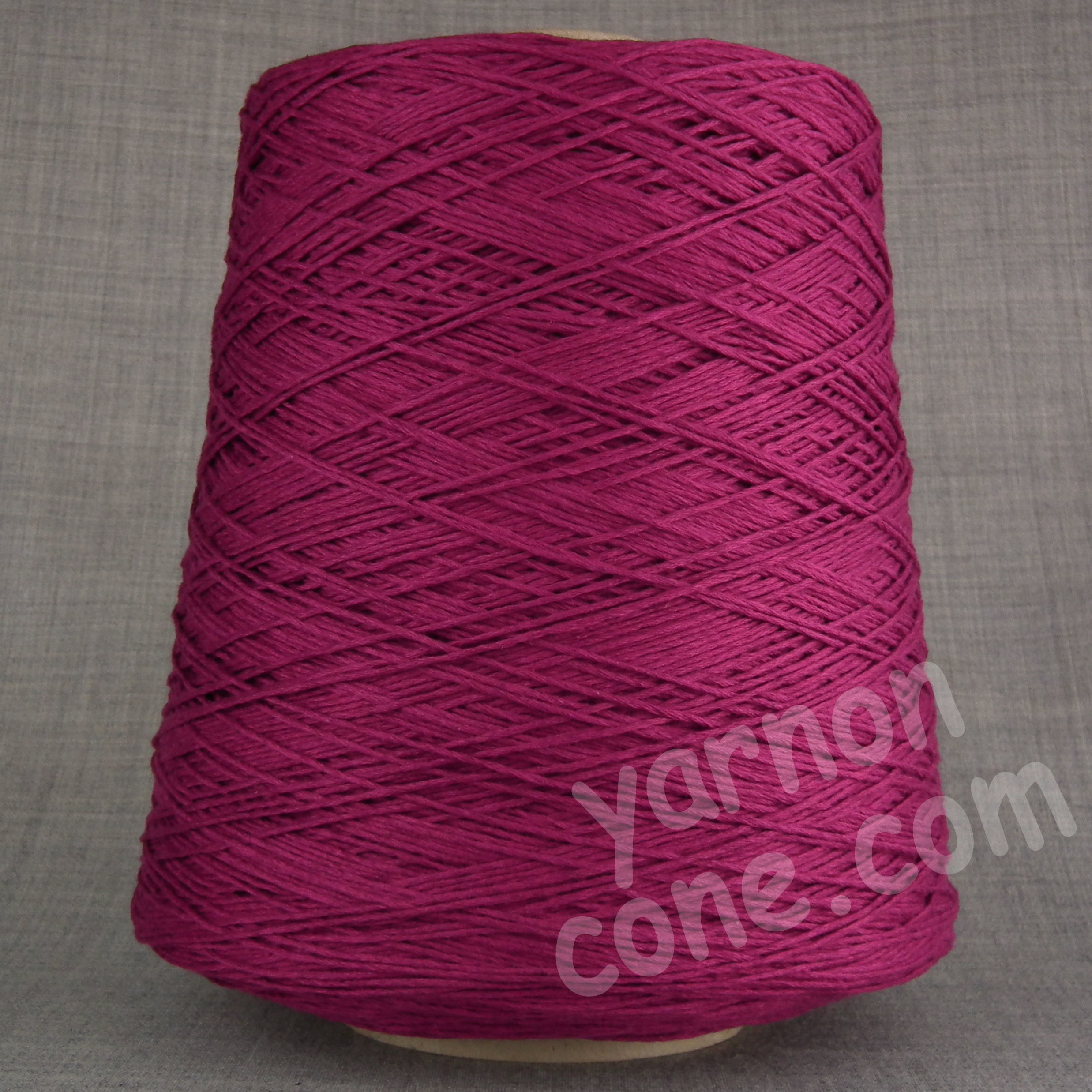 cashmere cotton soft yarn on cone 4 ply knitting weaving crochet luxury UK mulberry pink purple