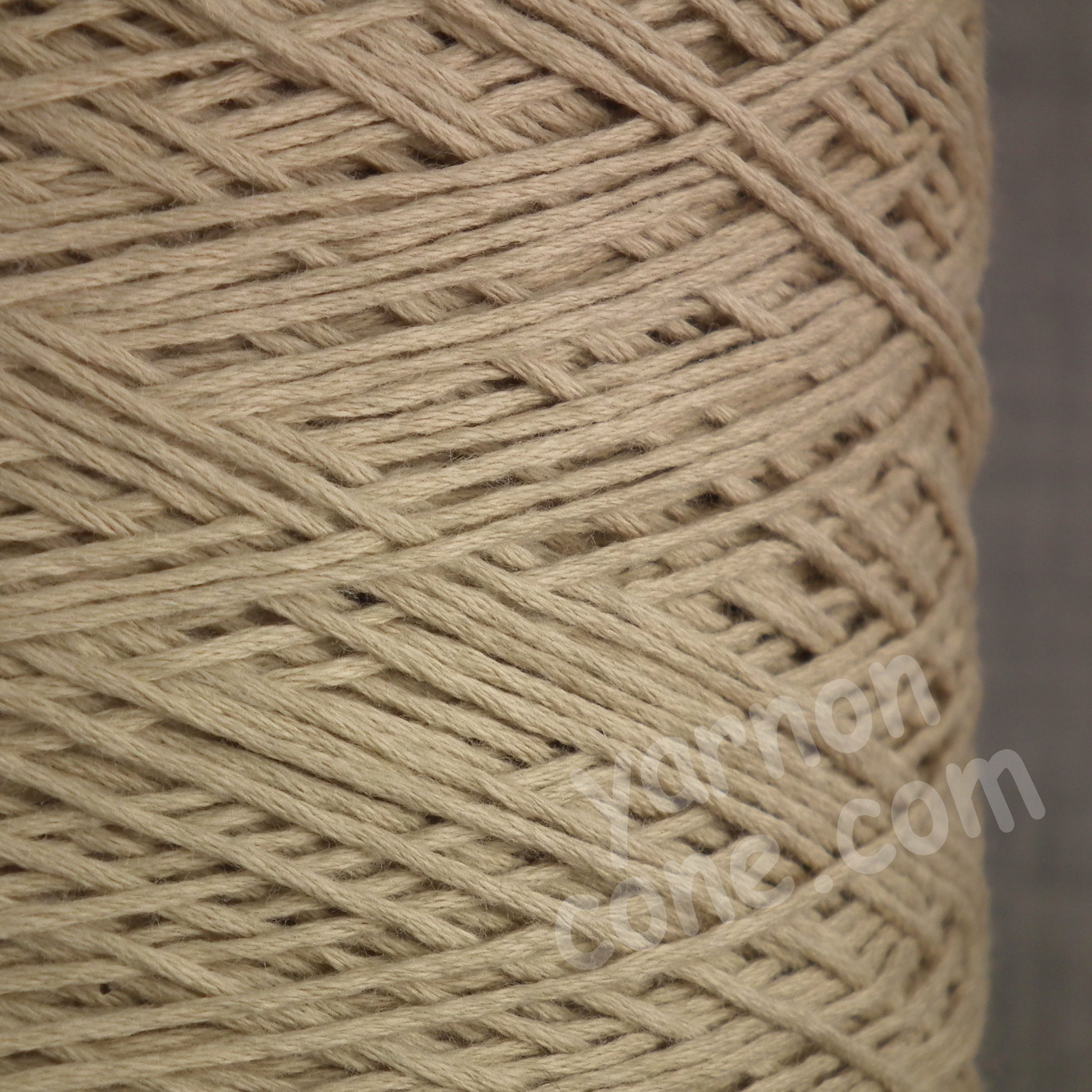 cashmere cotton soft yarn on cone 4 ply knitting weaving crochet luxury UK natural cream beige