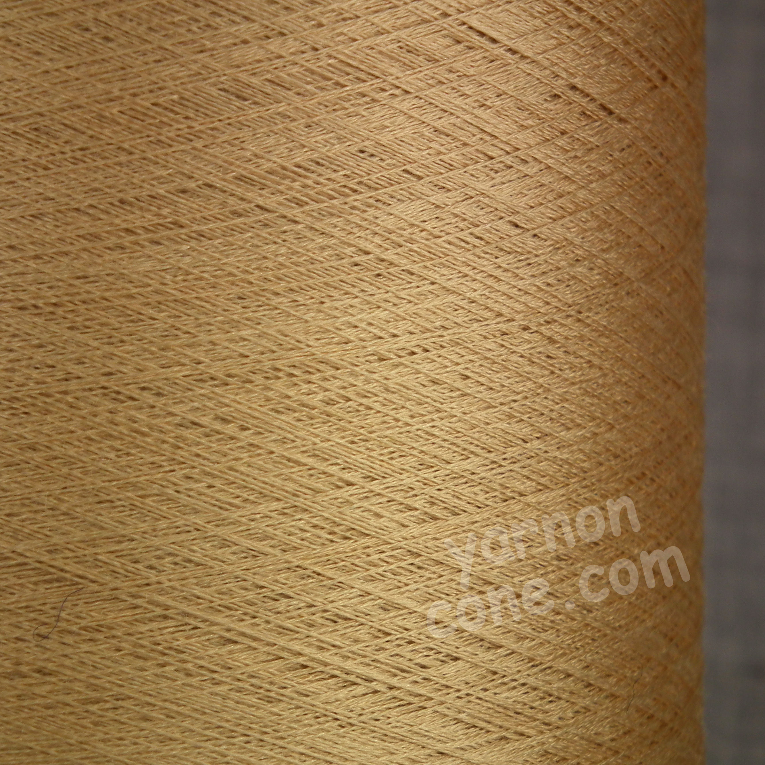 Pure silk cobweb yarn 2/120 NM italian 2/120NM on cone weaving knitting gold