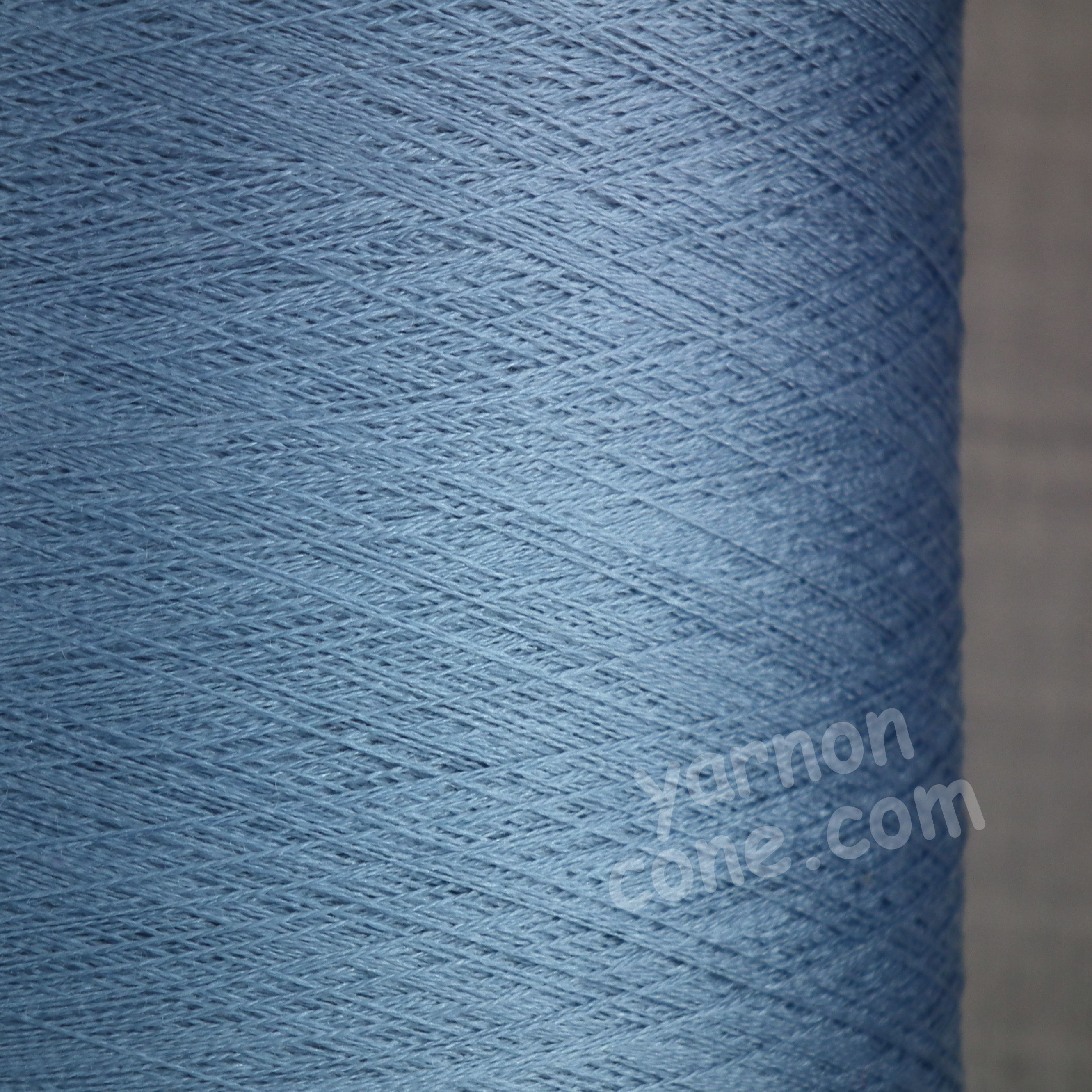 Pure silk cobweb yarn 2/120 NM italian 2/120NM on cone weaving knitting powder blue