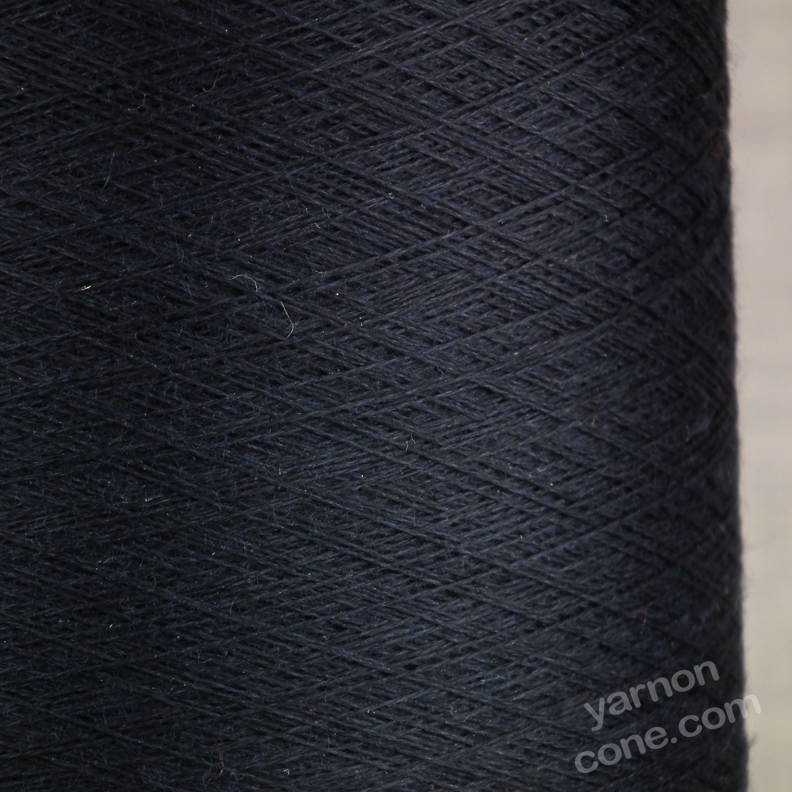 merino silk fine cobweb yarn on cone 2/60 NM UK knitting machine savile navy blue