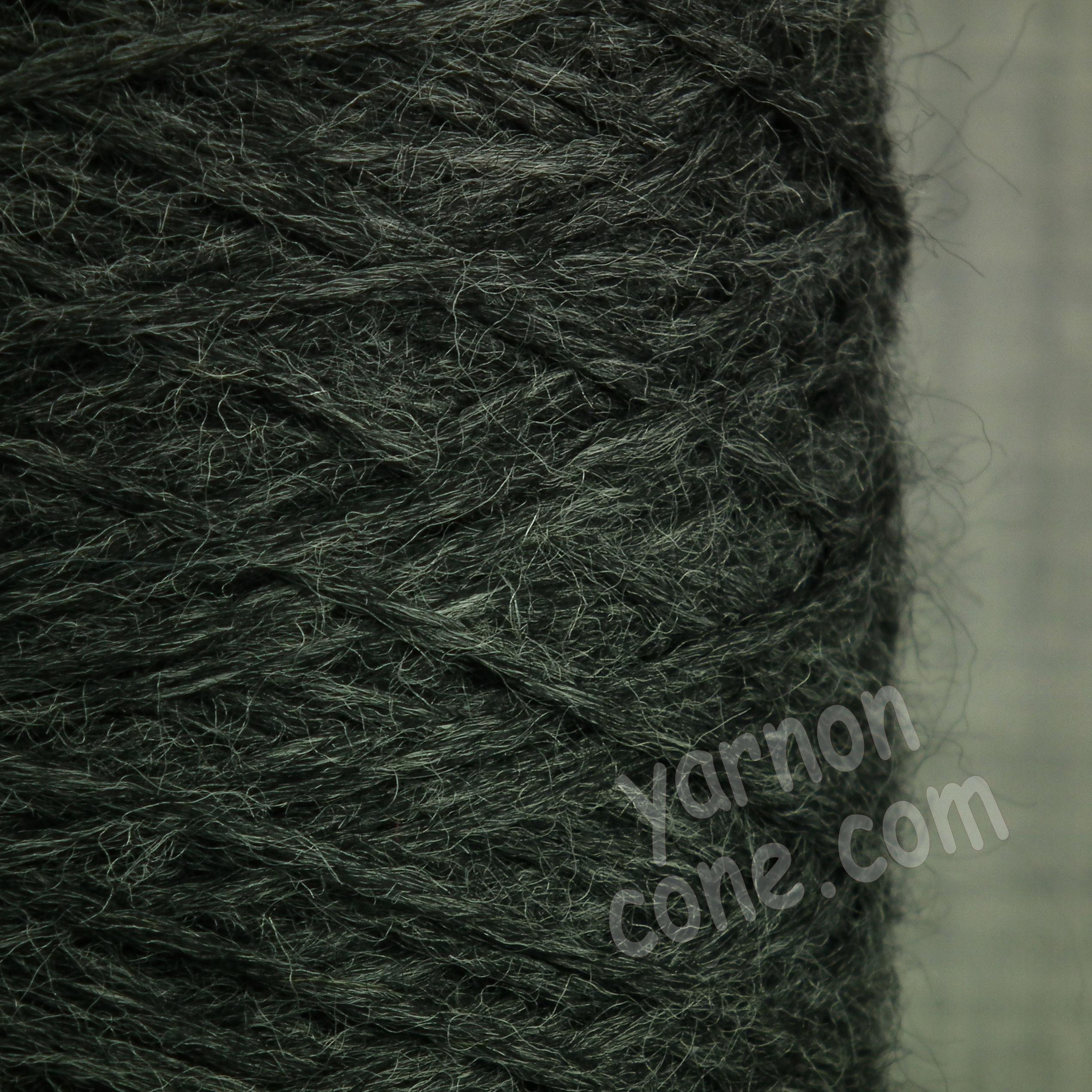 alpaca merino wool yarn aran weight soft knitting medium grey