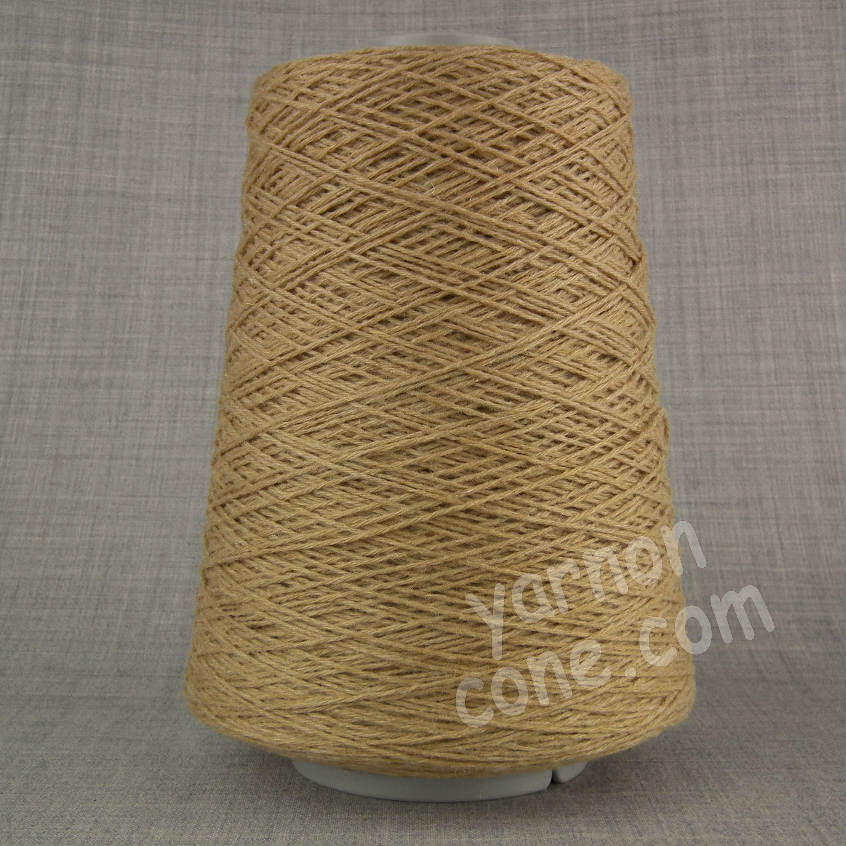 cashmere merino wool soft yarn on cone knitting italian quality 4 ply camel brown