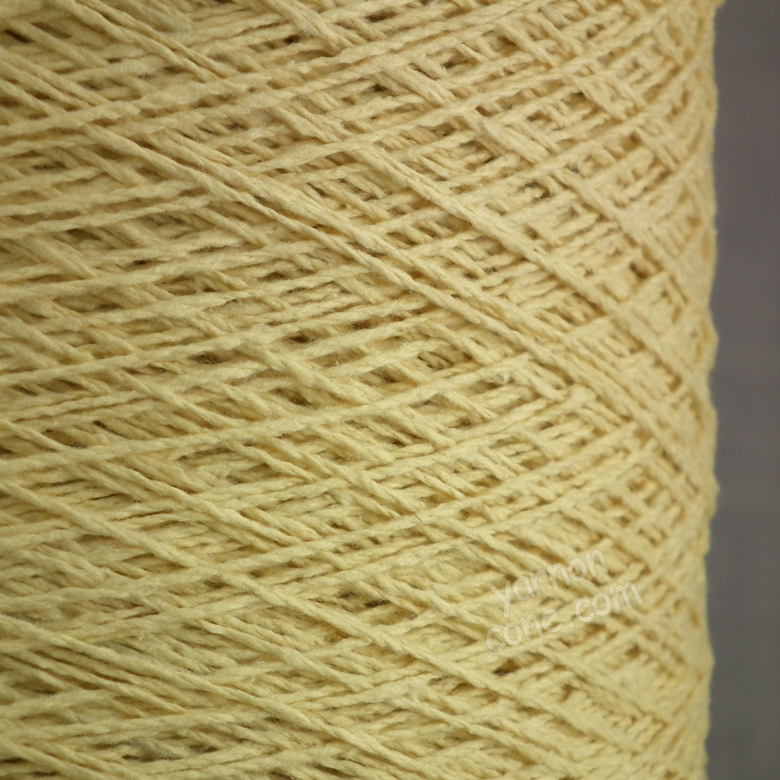 silk noil yarn on cone machine knitting yarn weaving rustic pure yellow