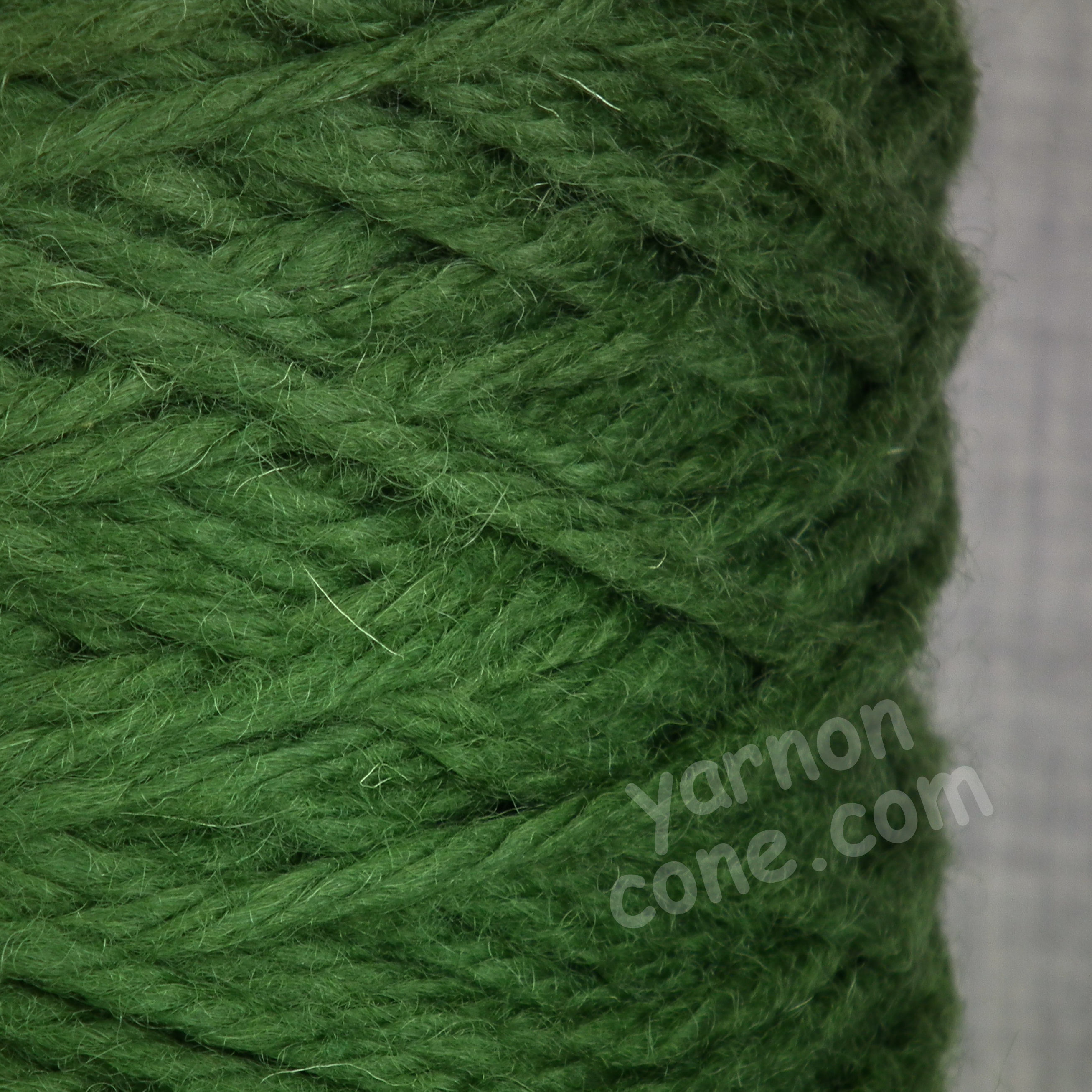 Chunky Pure Wool - Spruce Green