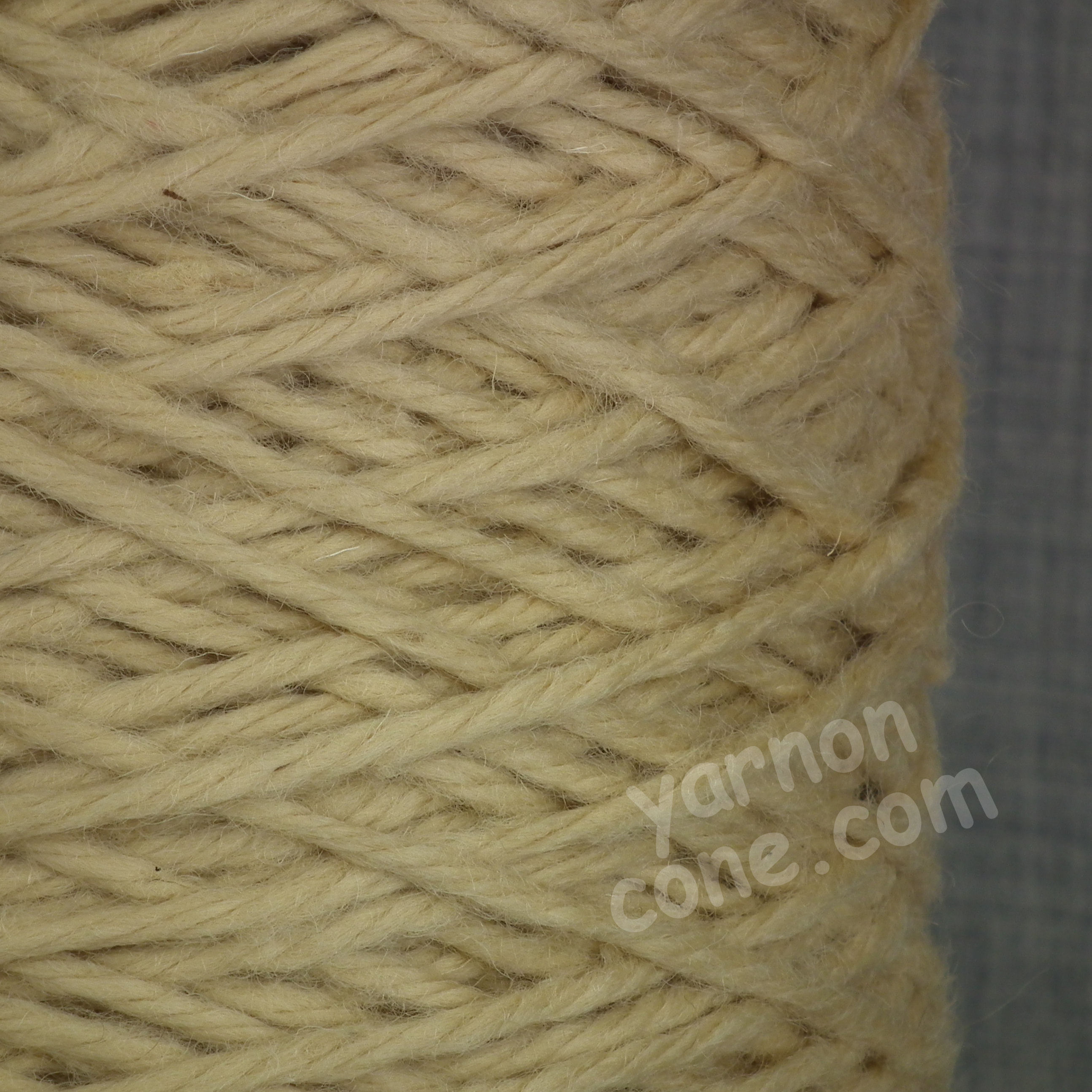 Chunky Pure Wool - Straw