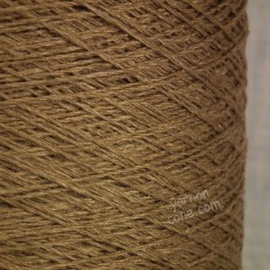 wool silk yarn on cone 3 ply for hand knitting machine knitting weaving UK supplier brown