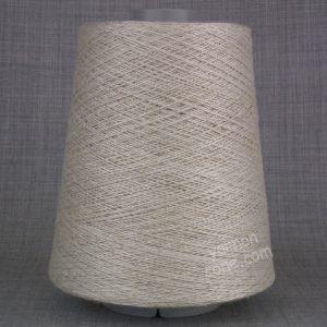Viscose cotton blend yarn undyed ecru weaving twist yarn on cone warp weft rustic style texture uk supplier
