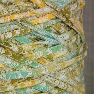fancy tape ladder yarn italian chunky aran weight yarn on cone hand & machine knitting coned yarn uk supplier